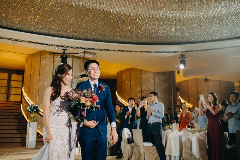 fullerton hotel wedding march in