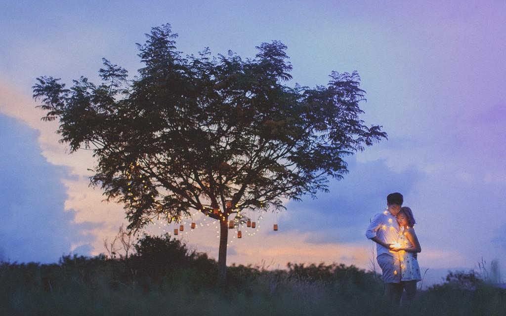 Garyngg & Beatricenhx Tuas Twilight Prewedding Photography